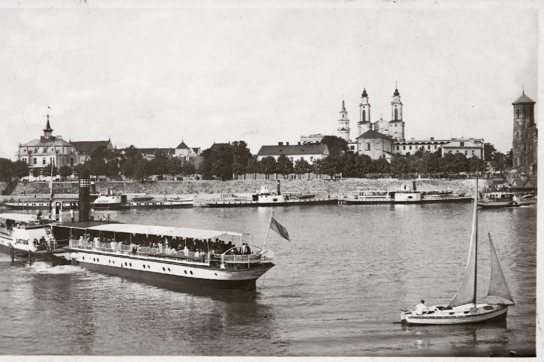 Kauno senamiesčio vaizdas.<br>Leidėjų nuotr.