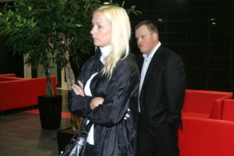 Ž.Buzas su žmona<br>A.Barzdžius