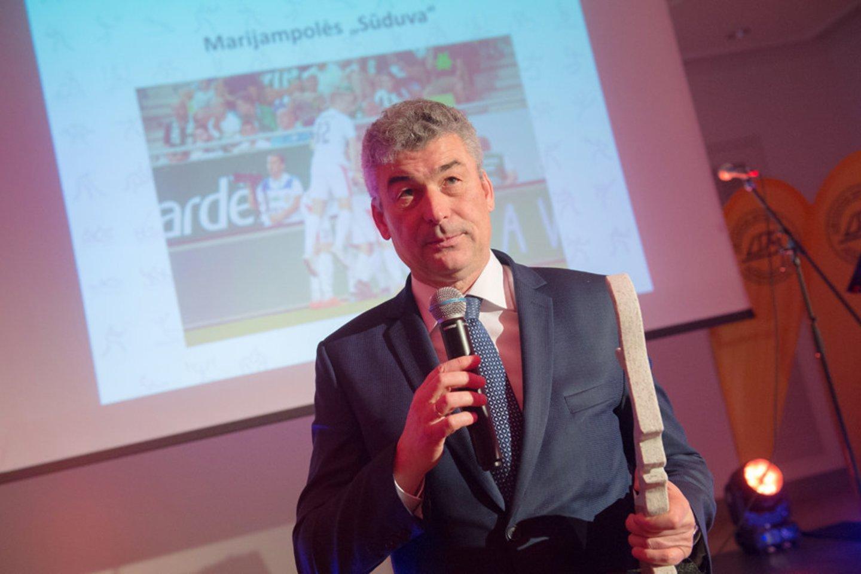 Vidmantas Murauskas tapo 2019 metų sporto vadybos laureatu<br>A.Pliadžio nuotr.