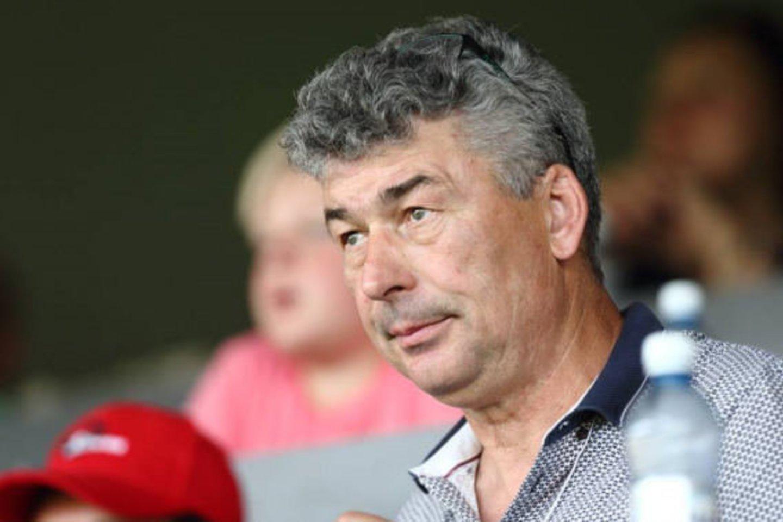 V.Murauskas džiaugiasi sezonu, kurį turėjo Marijampolės komanda.<br>S.Čirbos nuotr.