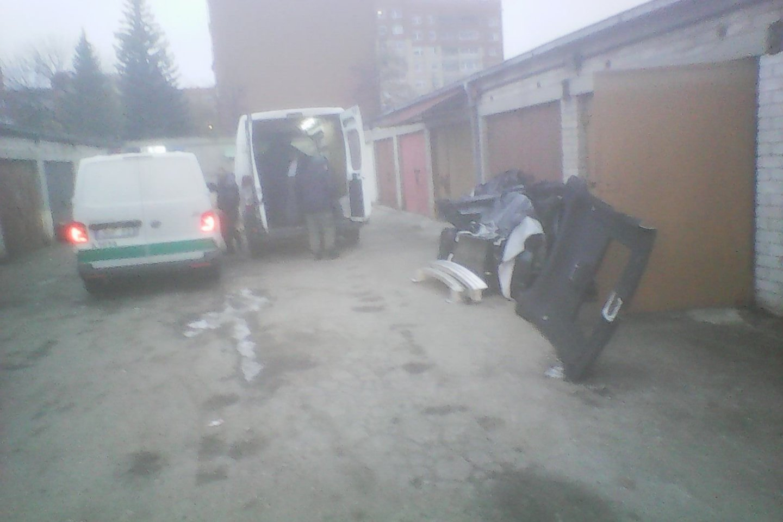 Nuotr. kratos akimirka Kaune.<br>Skaitytojų nuotr.