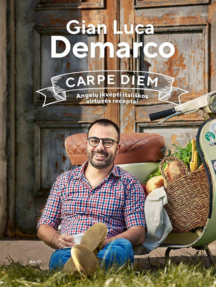 """G.L.Demarco knygoje – ne tik receptai. """"Kartu tai mano padėka visiems, dėl kurių tapau toks, koks esu dabar, ir turiu tai, kas mane šiuo metu supa, kuo labai džiaugiuosi"""", – kalbėjo šefas."""