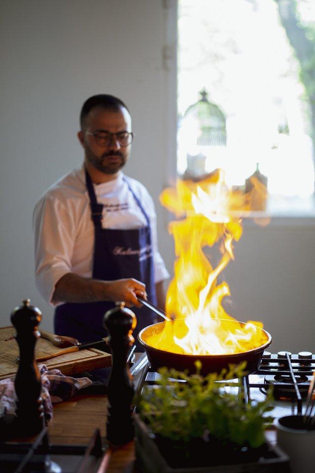 """G.L.Demarco.<br>R.Daskevičiaus nuotr. iš knygos """"Carpe diem. Angelų įkvėpti itališkos virtuvės receptai""""."""