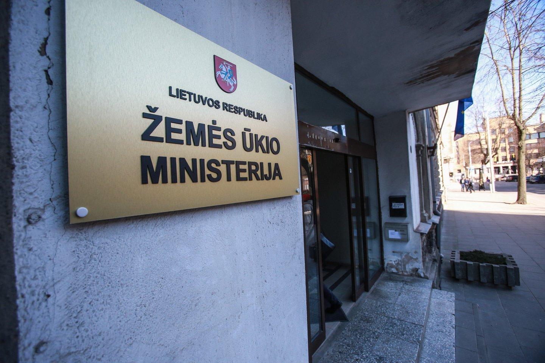 Žemės ūkio rūmų pirmininkas Arūnas Svitojus teigia, kad sprendimas Žemės ūkio ministerijąpalikti Vilniuje yra logiškas.<br>G.Bitvinsko nuotr.