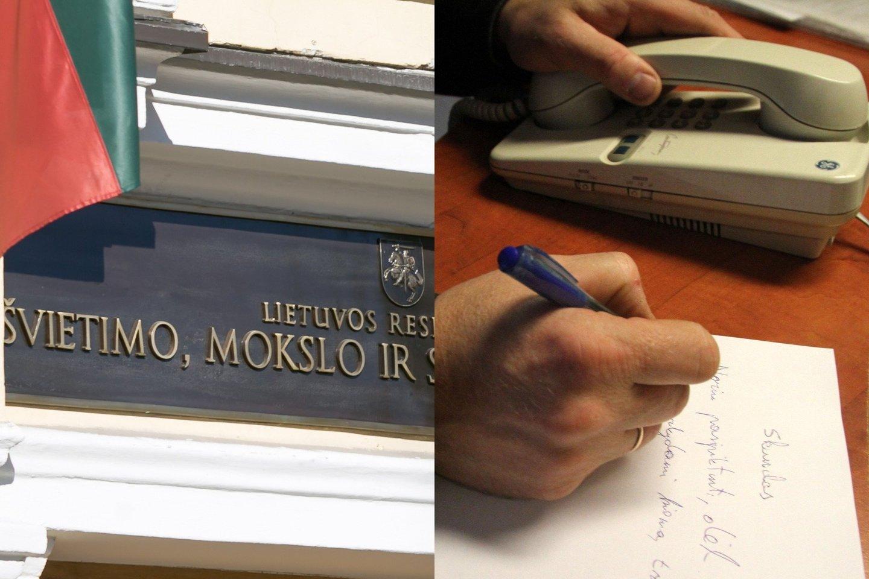 Darbuotojai įtaria, kad į vadovo vietą taikosi buvęs ministerijos vieno iš skyrių vadovas.<br>T.Bauro ir M.Patašiaus nuotr.