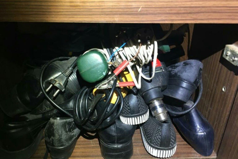Policijaprašo asmenis, kurie galėjo nukentėti nuo ilgapirščių ir atpažino savo daiktus, kreiptis į policijos komisariatą.<br>Tauragės apskrities VPK nuotr.