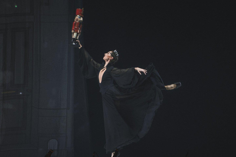 """Šokių baleto """"Spragtukos"""" premjeros akimirka.<br>E.Sabaliauskaitės nuotr."""