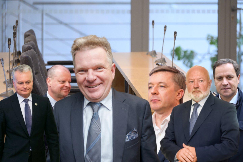 Dar pernai politikos viršūnėse kilusi sumaištis dėl Lietuvos lenkų rinkimų akcijos–Krikščioniškų šeimų sąjungos (LLRA-KŠS) į Susisiekimo ministerijos vadovus deleguoto J.Narkevičiaus nemažėja ir šiemet.<br>Lrytas.lt montažas