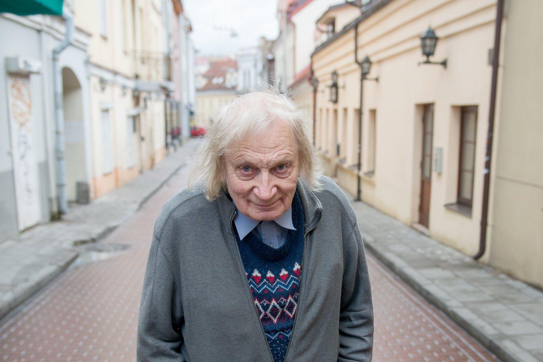 Be Albino Kentros sunku įsivaizduoti Vilniaus senamiestį ir Universitetą.<br>J.Stacevičiaus nuotr.