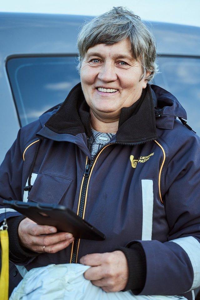"""Kaip skelbė """"Lietuvos paštas"""", mobilaus laiškininkoprojektas jau yra įgyvendintas 75 proc. Lietuvos teritorijos, o iki 2020 m. vasario 28 d. planuojama, kad mobilus laiškininkas veiks visų Lietuvos rajonų kaimiškose vietovėse.<br>Bendrovės nuotr."""