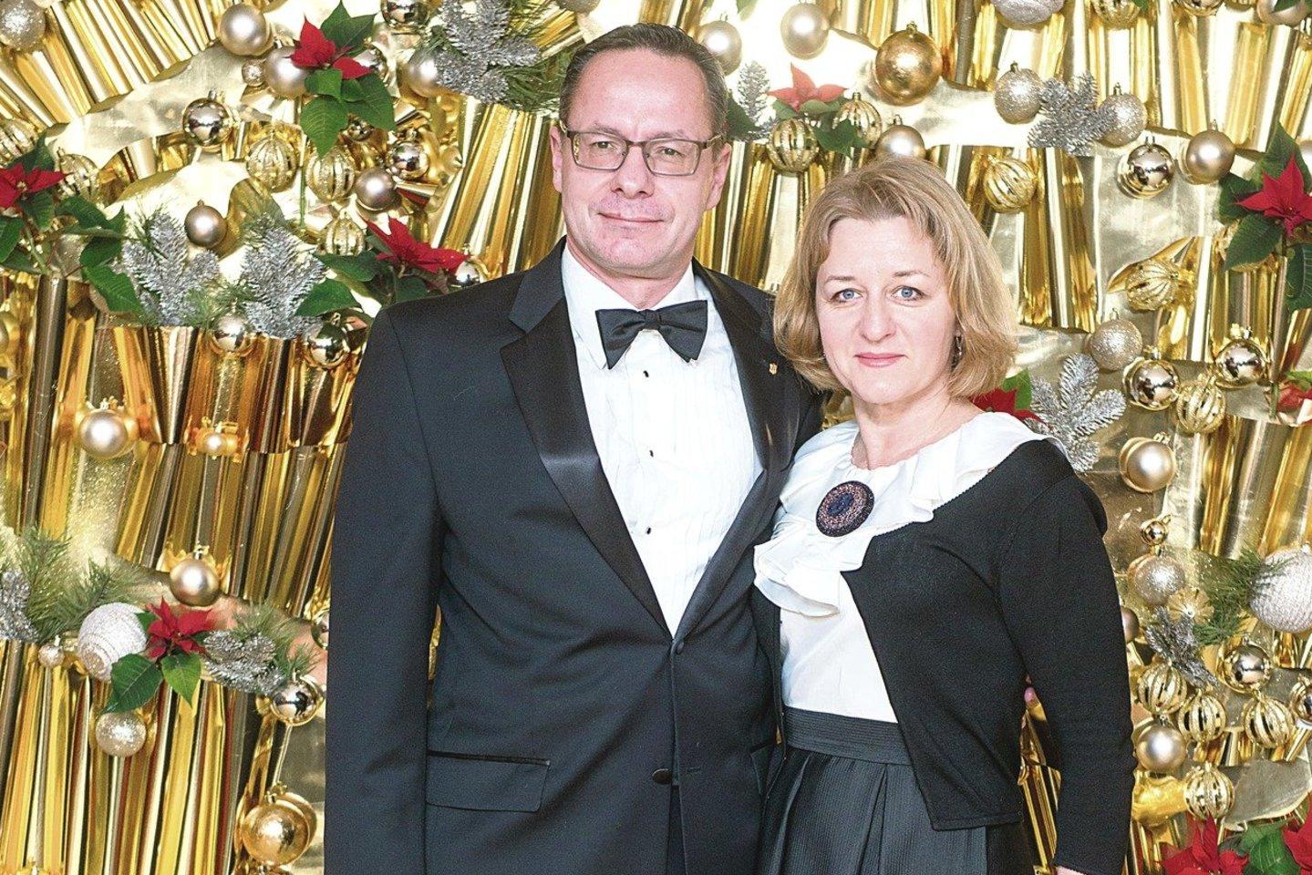 Ž.Pavilionis su žmona Lina išsiskyrė po beveik 25 bendro gyvenimo metų.