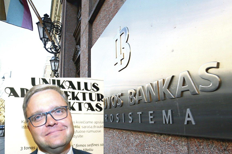 V.Vasiliausko vadovaujamas Lietuvos bankas nusprendė išduoti licenciją veikti mūsų šalyje tarptautinei įmonei, kurios savininkai – prieštaringai vertinami verslininkai iš Rusijos, o Ukraina jiems paskelbusi sankcijas.<br>R.Danisevičiaus nuotr.