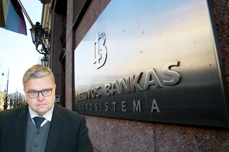 V.Vasiliausko vadovaujamas Lietuvos bankas nusprendė išduoti licenciją veikti mūsų šalyje tarptautinei įmonei, kurios savininkai – prieštaringai vertinami verslininkai iš Rusijos, o Ukraina jiems paskelbusi sankcijas.<br>lrytas.lt montažas