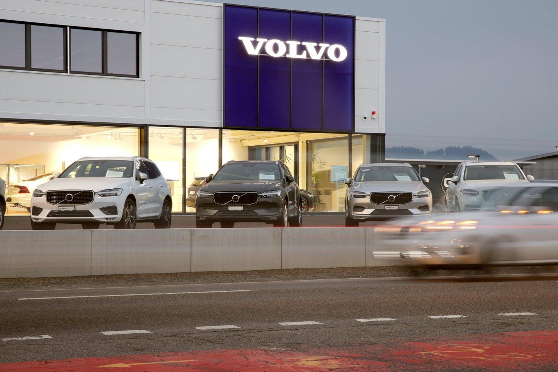 """DUH pranešė, kad 9-22 laipsnių Celsijaus temperatūrose """"Volvo"""" dyzelinis variklis išmeta keturis kartus daugiau kenksmingų azoto oksidų, nei leidžiama pagal """"Euro 5"""" standartus.<br>Reuters/Scanpix nuotr."""