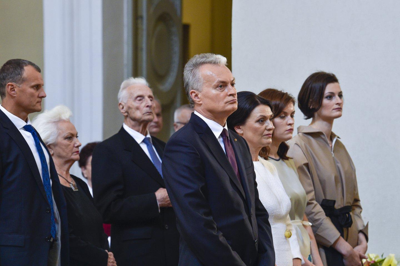 A.Nausėda pernai dalyvavo prezidento inauguracijos ceremonijoje.<br>V.Ščiavinsko nuotr.