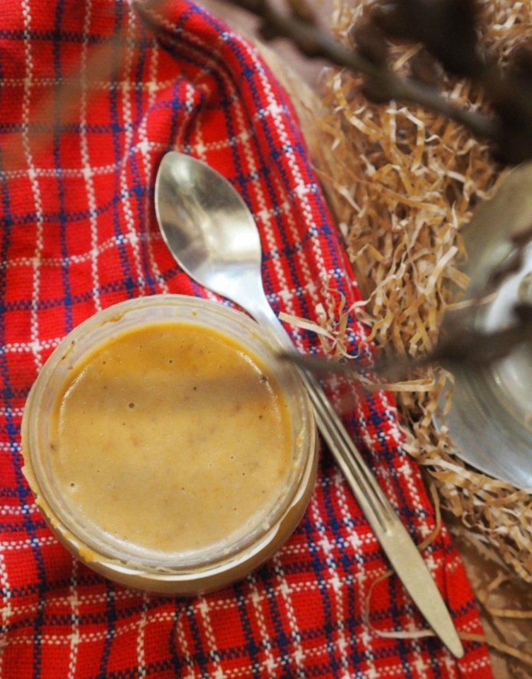 """Sausainių sviestas.<br>R.Šniolienės (""""Kūmutės virtuvė"""") nuotr."""