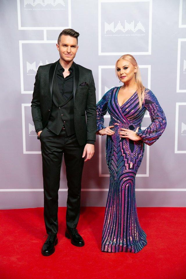 Martynas Kavaliauskas su žmona Rusne.<br>T.Bauro ir V.Skaraičio nuotr.
