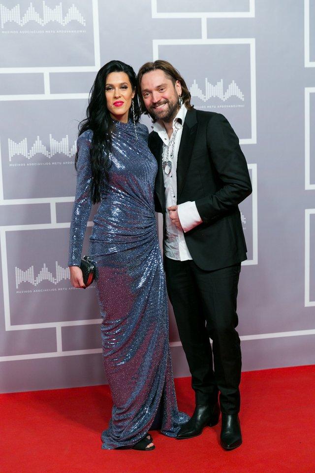 Leonas Somovas su žmona Žemyna.<br>T.Bauro ir V.Skaraičio nuotr.
