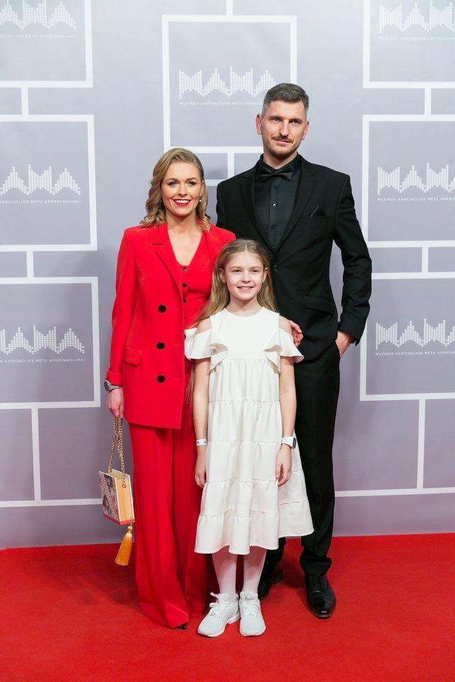 Agnė Grudytė su šeima.<br>T.Bauro ir V.Skaraičio nuotr.