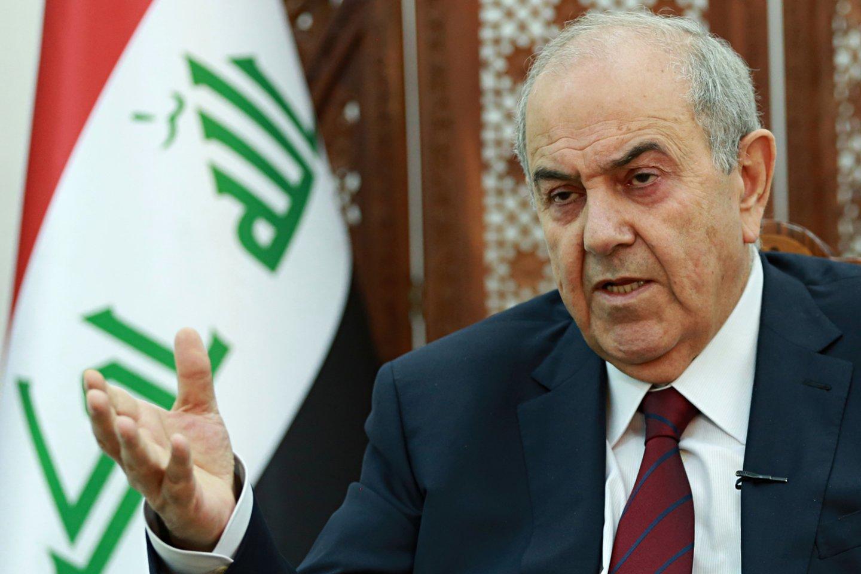 Mohammadas Allawi.<br>AP/Scanpix nuotr.
