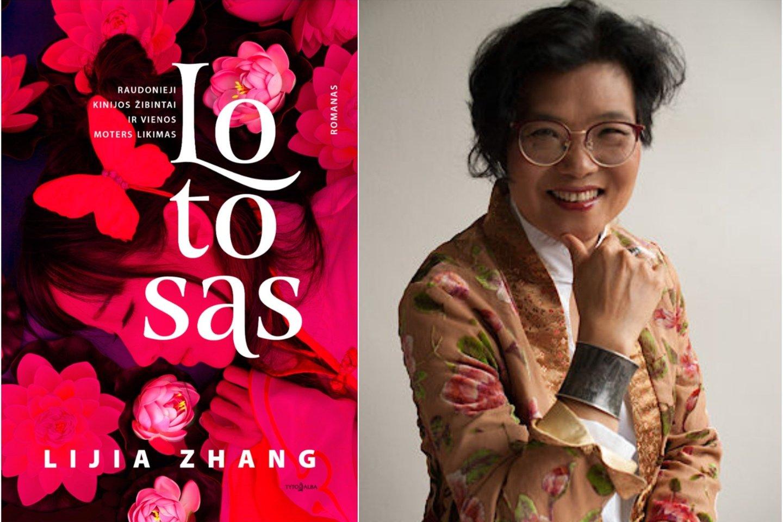 """Londone gyvenanti, Kinijoje gimusi rašytoja Lijia Zhang Vilniaus knygų mugėje pristatys romaną """"Lotosas"""".<br>L.Jang nuotr."""