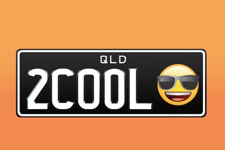 Australijoje nuo praėjusių metų jau leidžiama vairuotojamas prie savo transporto priemonių valstybinių numerių pridėti vieną iš penkių emocijų.<br>Twitter nuotr.