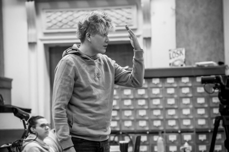 V.Barchatovas grįžo režisuoti LNOBT po septynerių metų pertraukos.<br>M.Aleksos nuotr.