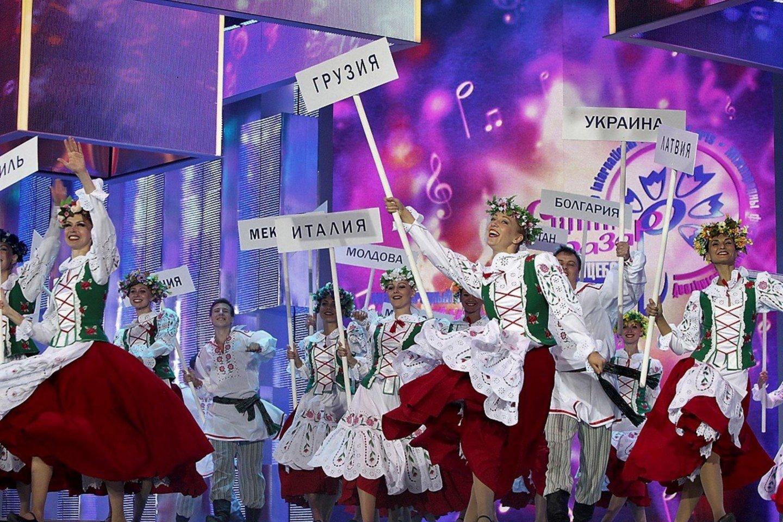 """""""Slavianskij bazar"""". Konkurso Vitebske akimirka.<br>Organizatorių nuotr."""