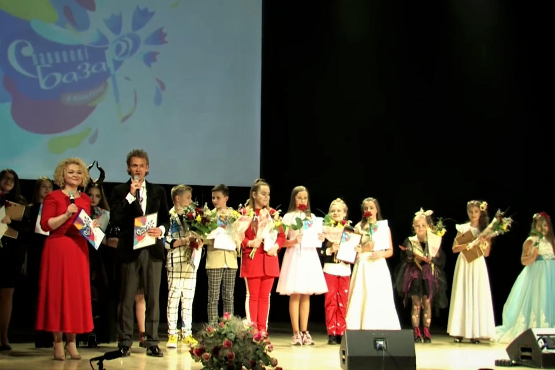 """""""Slavianskij bazar"""" nacionalinės atrankos koncerto dalyviai Klaipėdoje.<br>G.Pilaičio nuotr."""