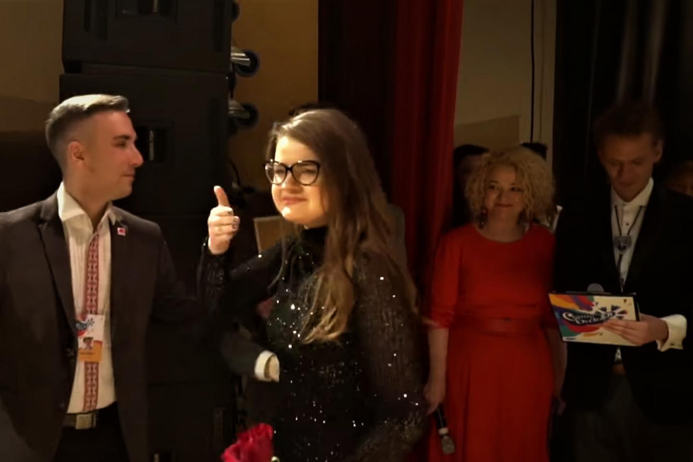 Suaugusių dainininkų kategorijoje pergalę šventė Karolina Lyndo.<br>G.Pilaičio nuotr.