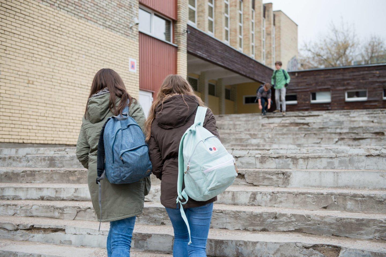 Klaipėdos Vydūno gimnazijoje neregėta mokytojos kalba – meldėsi su V. Putiną ir gailėjosi sovietmečio<br>J.Stacevičiaus asociatyvioji nuotr.