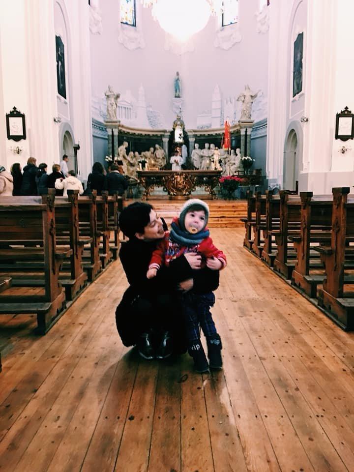 Ingridai rūpi ir dainininkės karjera, bet svarbiausias dalykas gyvenime – sūnelis Žakas.<br>Asmeninio archyvo nuotr.