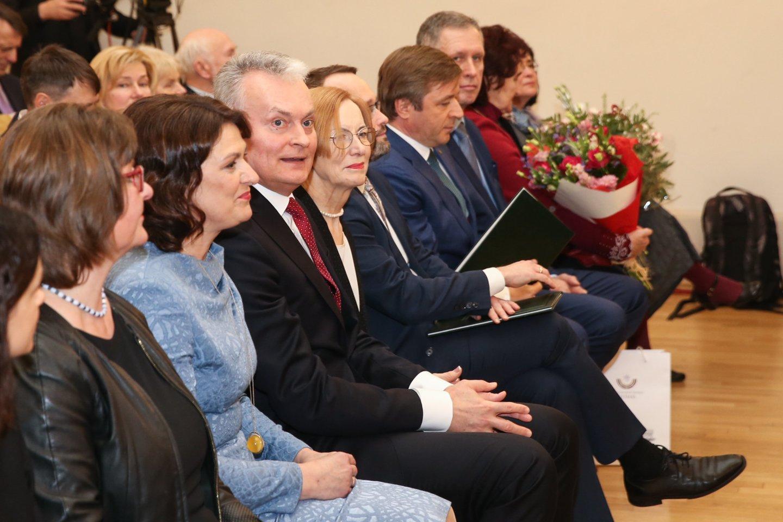 J. Basanavičiaus premijos įteikimo ceremonija.<br>R.Danisevičiaus nuotr.