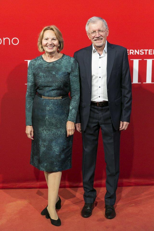 Gediminas Kirkilas su žmona Liudmila.<br>T.Bauro nuotr.