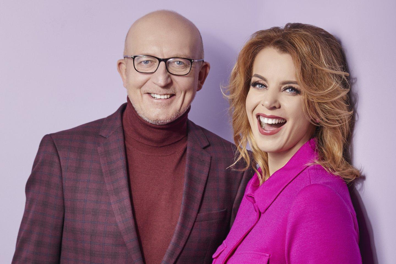 Arūnas Valinskas ir Inga Valinskienė.<br>LR archyvo nuotr.