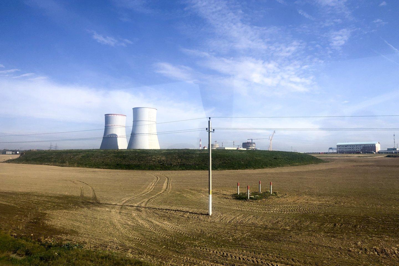 Baltarusijos opozicionieriai ir aktyvistai Lietuvos pašonėje statomą Astravo atominę elektrinę (AE) vadina Rusijos branduoline bomba.<br>V.Ščiavinsko nuotr.
