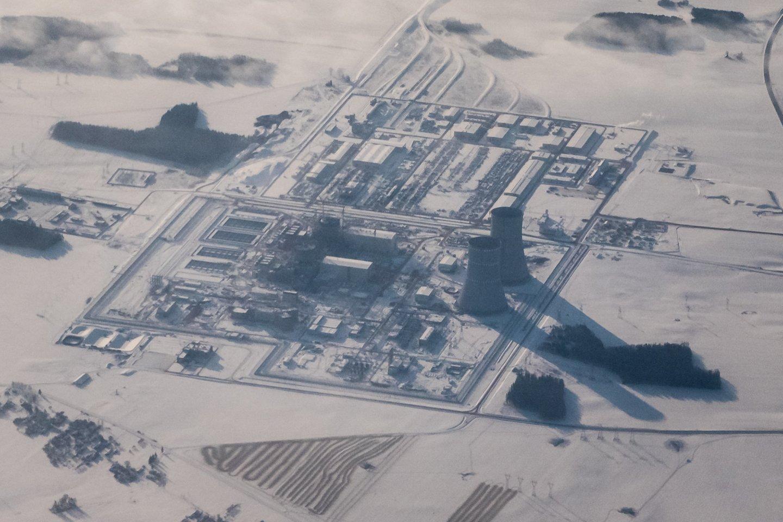 Baltarusijos opozicionieriai ir aktyvistai Lietuvos pašonėje statomą Astravo atominę elektrinę (AE) vadina Rusijos branduoline bomba.<br>D.Umbraso nuotr.