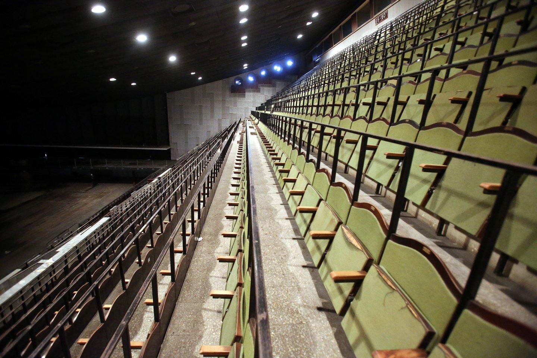 Turto bankas tikėjosi, kad jau kitąmet prasidės Sporto rūmų rekonstrukcija.<br>R.Danisevičiaus nuotr.