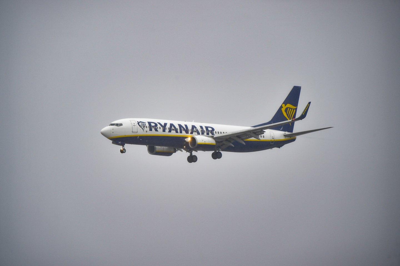 """Teismas paskelbė, kad """"Ryanair"""" neteisėtai taikė vieną taisyklę.<br>V.Ščiavinsko nuotr."""