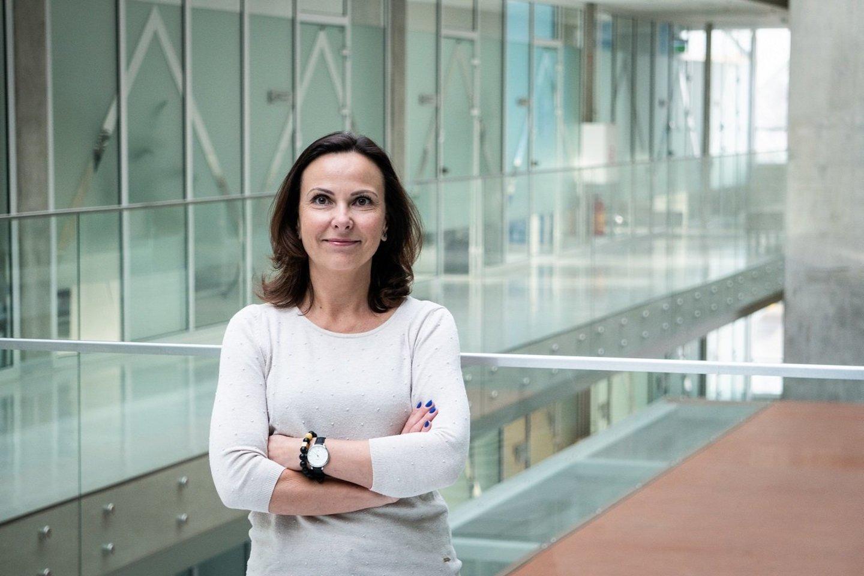 Kauno technologijos universiteto Mechanikos inžinerijos ir dizaino fakulteto (MIDF) mokslininkė dr. Daiva Zeleniakienė.<br>KTU nuotr.