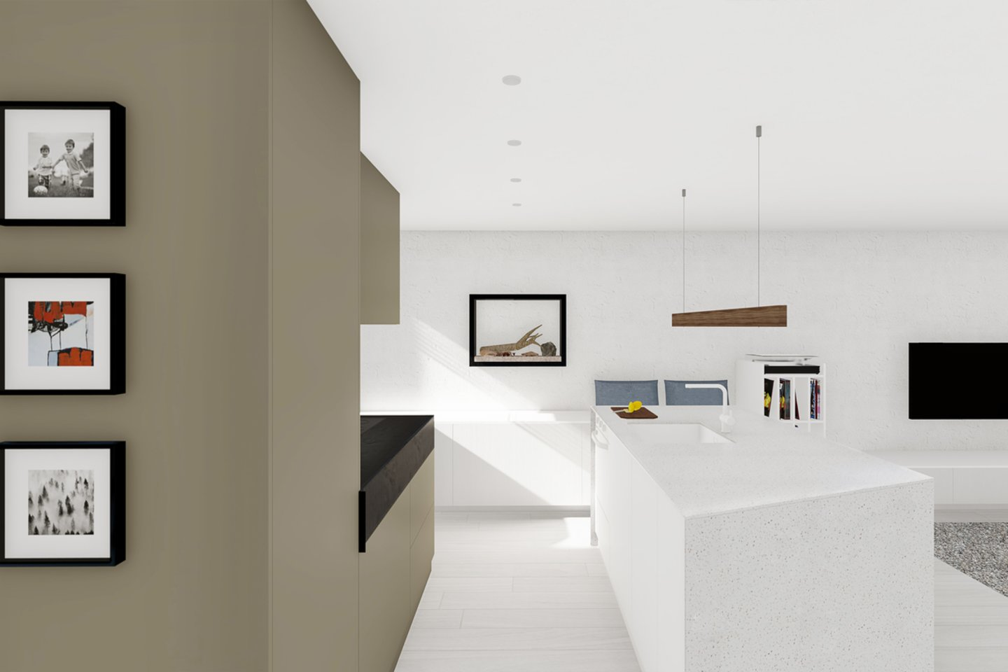 Idealiuoju atveju, jei į specialistą kreipiamasi laiku, interjero dizainerio darbas prasideda ne nuo apšvietimo projektavimo, o nuo objekto paskirties ir užsakovo analizės.<br>K. Čerkauskaitės vizual.