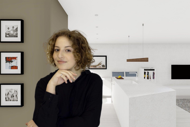 """Apie kasdienį darbą ir iššūkius – interjero dizaino studijos """"Įkurės"""" dizainerė Kotryna Čerkauskaitė."""