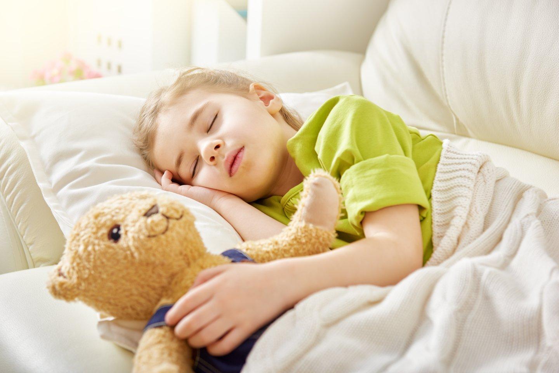 Neišsimiegantys vaikai taip pat kenčia nuo suprastėjusios kognityvinės funkcijos.<br>123rf nuotr.