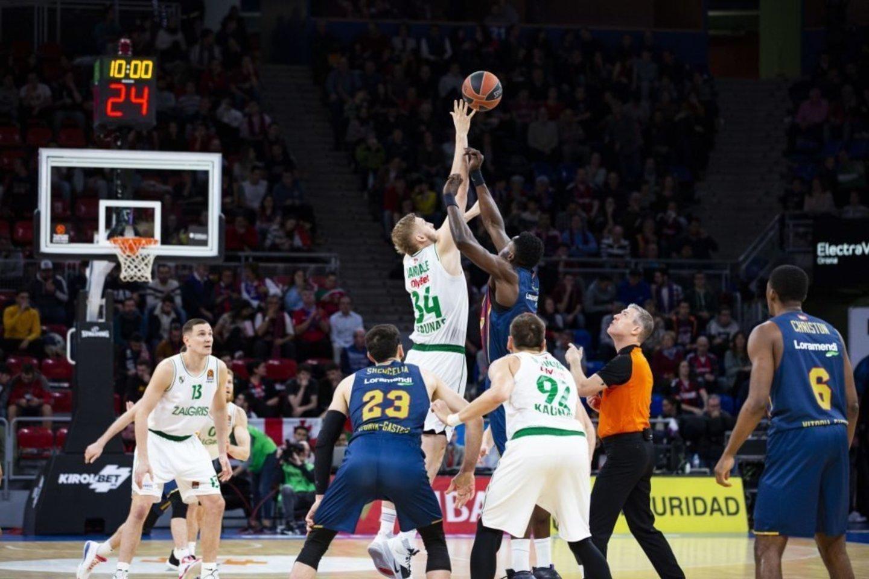 """""""Žalgirį"""" aštuonete reginti Ispanijos spauda drabstė purvus ant """"Baskonia"""": """"Žaidimas buvo baisus""""<br>zalgiris.lt nuotr."""