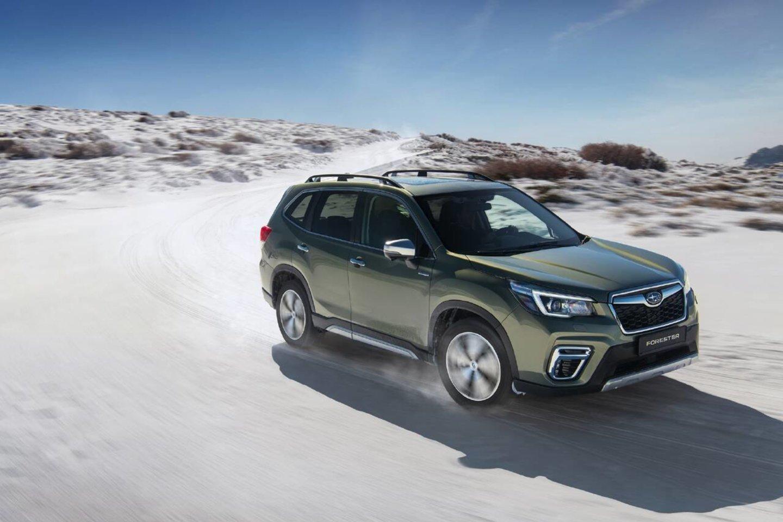 """""""Subaru Forester"""" šiais metais jau spėjo pelnyti tris apdovanojimus<br>Gamintojo nuotr."""