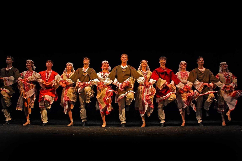 Baltarusijos nacionalinis šokių ansamblis.<br>Organizatorių nuotr.