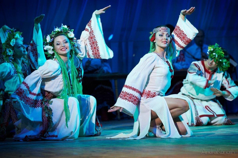 Baltrusijos nacionalinis šokių ansamblis.<br>Organizatorių nuotr.