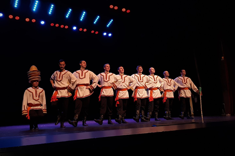 Vyrų šokis.<br>G.Pilaičio nuotr.