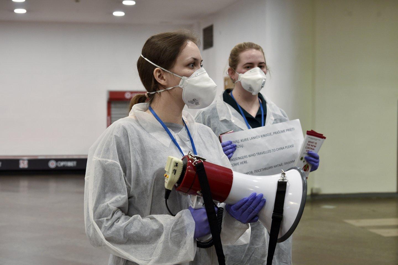 Kinijoje sausį kilus COVID-19 viruso protrūkiui, jis išplito daugiau nei 30-yje valstybių.<br>V.Ščiavinsko nuotr.
