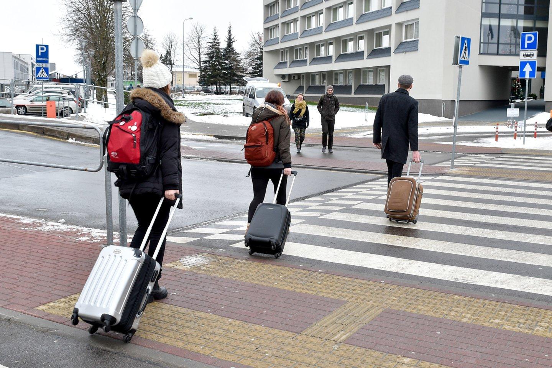 Didelė dalis į Lietuvą atvykusių darbuotojų iš Ukrainos patraukia į statybos įmones.<br>V.Ščiavinsko nuotr.
